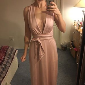 Rose Gold Maxi dress